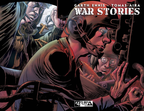 War Stories #4 (Wrap Cover)