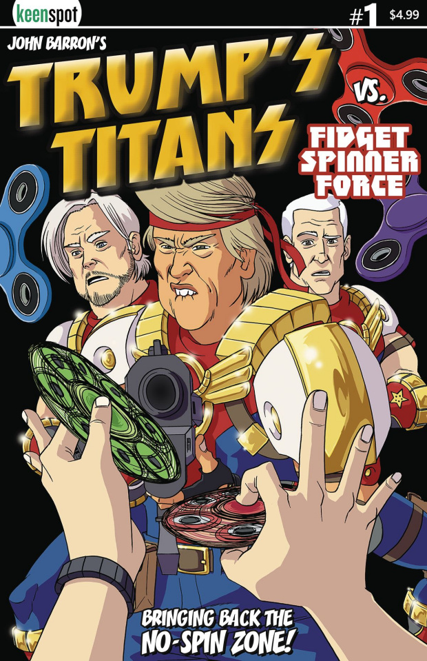 Trump's Titans #2 (Terrific Tremendous Cover)