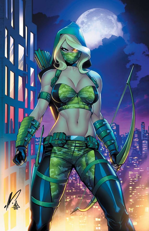Robyn Hood 2021 Annual: SWARM (Garza Cover)