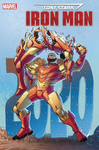 Tony Stark: Iron Man #19 (Woods Cover)