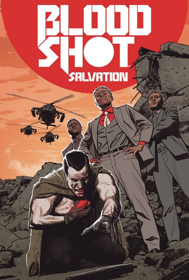 Bloodshot: Salvation #5 (20 Copy Smallwood Cover)