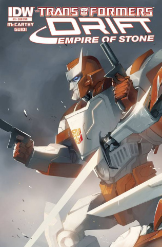 The Transformers: Drift - Empire of Stone #3 (Subscription Cover)