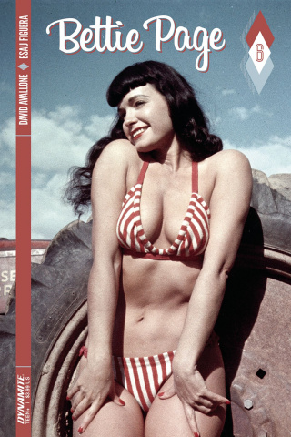 Bettie Page #6 (Photo Cover)