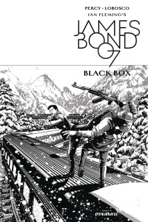 James Bond: Black Box #4 (10 Copy Masters B&W Cover)