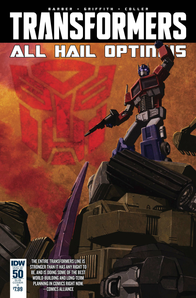 The Transformers #50 (Hickman Cover)