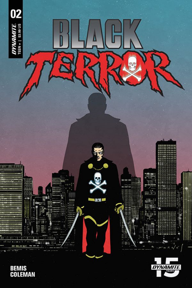 Black Terror #2 (Fornes Cover)