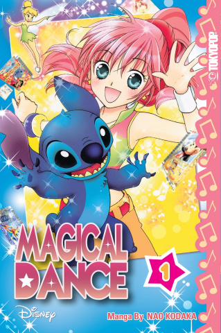 Disney Manga: Magical Dance Vol. 1