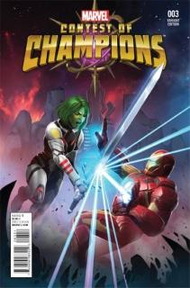 Contest of Champions #3 (Contest of Champions Game Cover)