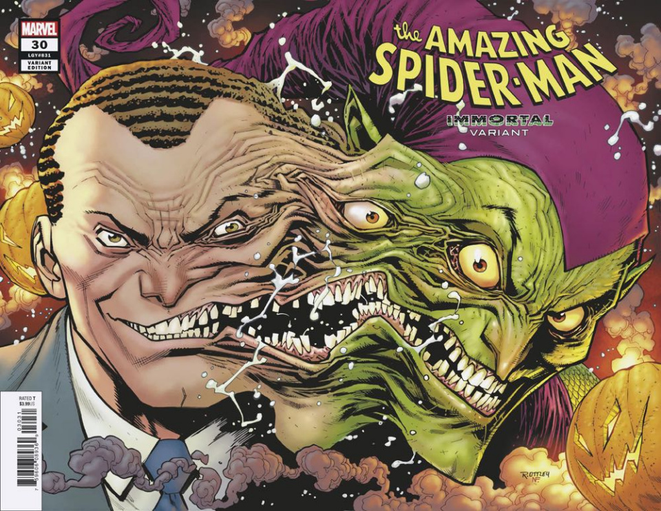 The Amazing Spider-Man #30 (Ottley Immortal Wraparound Cover)