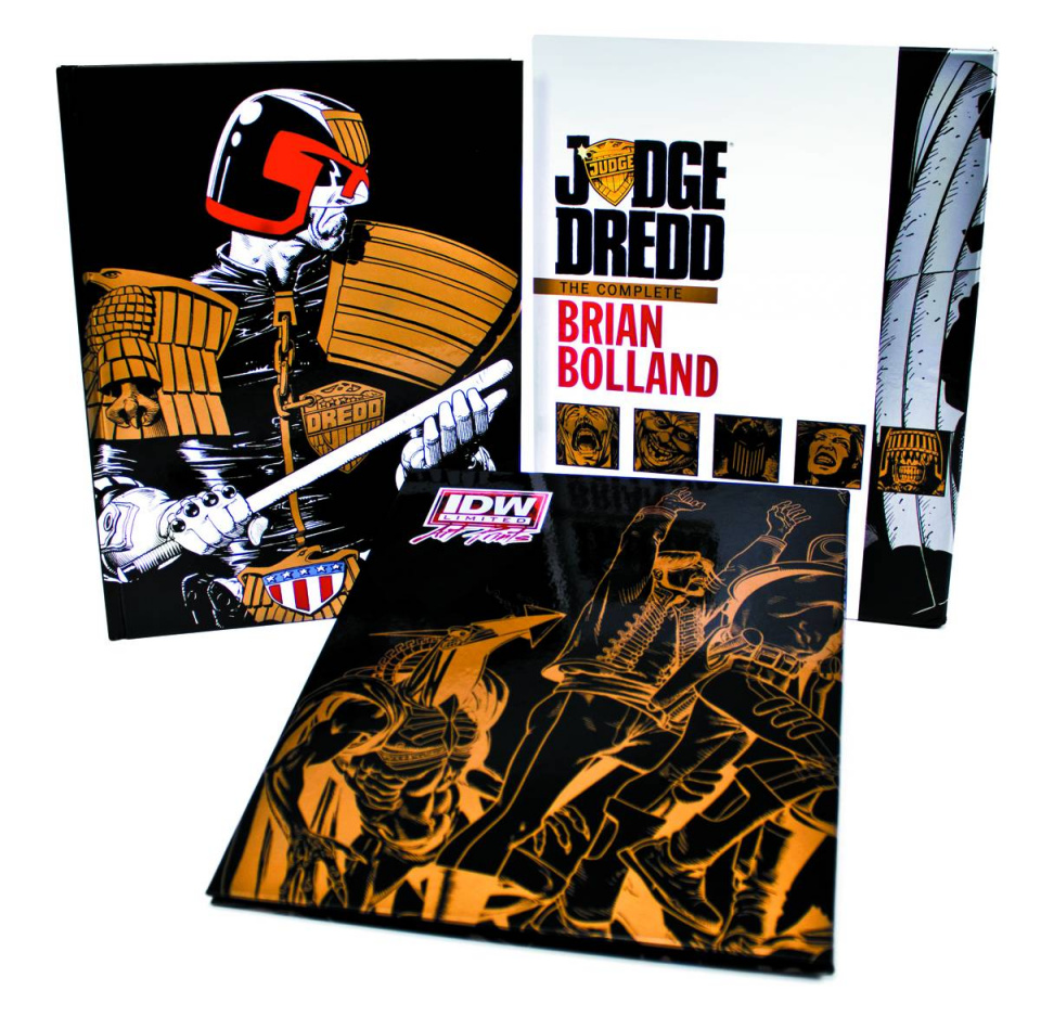 Judge Dredd: The Complete Brian Bolland Red Label Editon