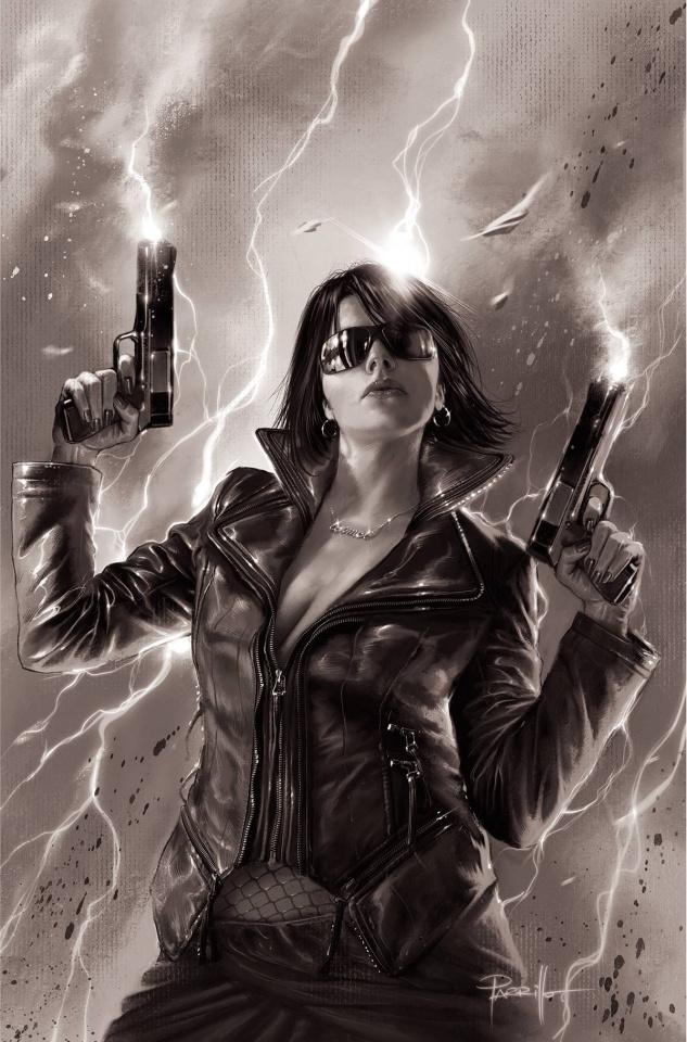 Jennifer Blood #1 (11 Copy Parrillo B&W Virgin Cover)