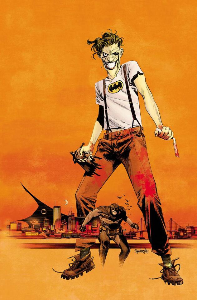 Batman: White Knight #2 (Variant Cover)