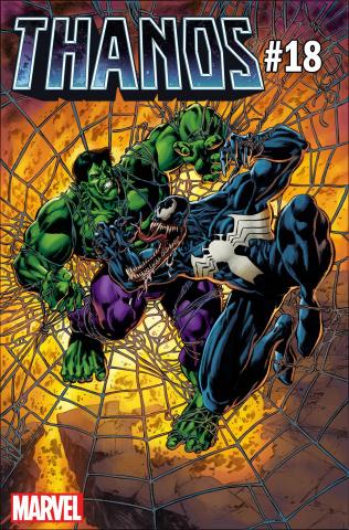 Thanos #18 (Perkins Venom Cover)