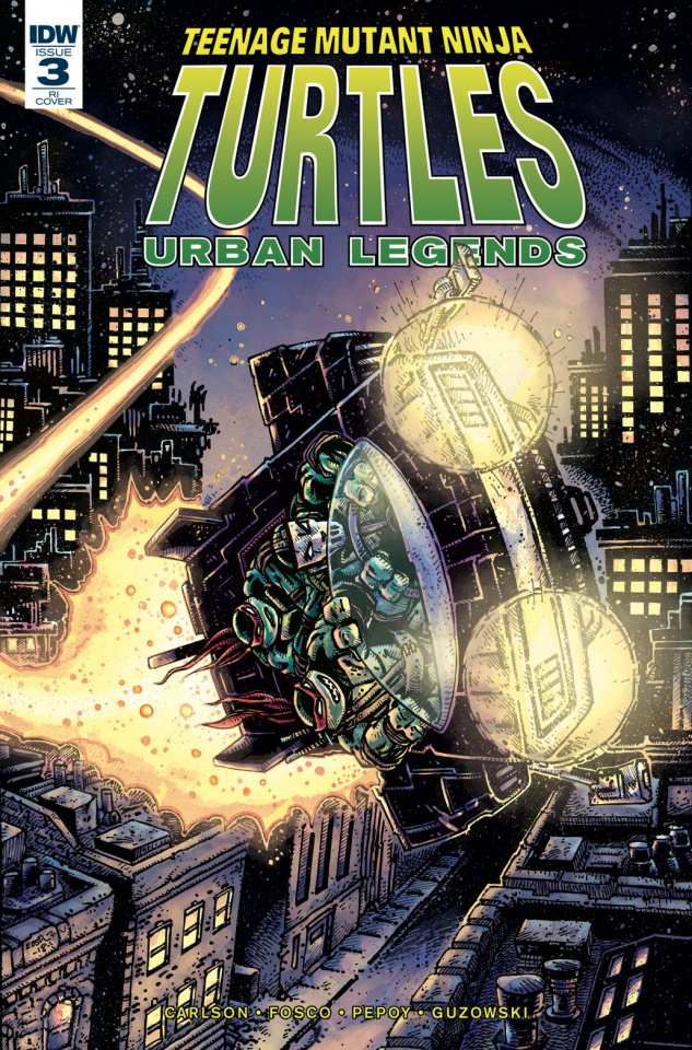 Teenage Mutant Ninja Turtles: Urban Legends #3 (10 Copy Eastman Cover)