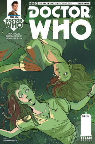 Doctor Who: New Adventures with the Tenth Doctor, Year Three #4 (Zanfardino Cover)