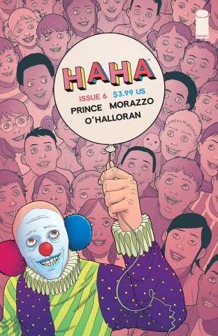 Haha #6 (Morazzo & O'Halloran Cover)