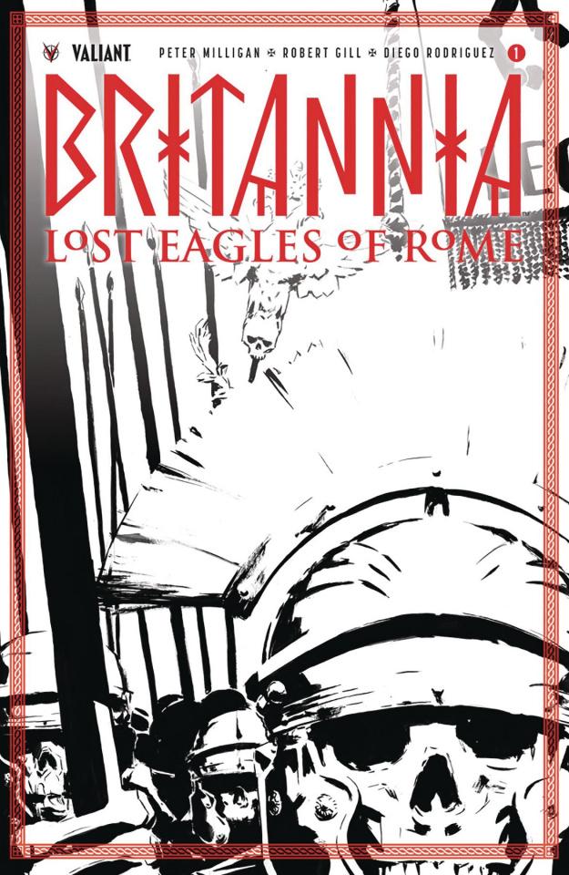 Britannia: Lost Eagles of Rome #1 (50 Copy Cover)