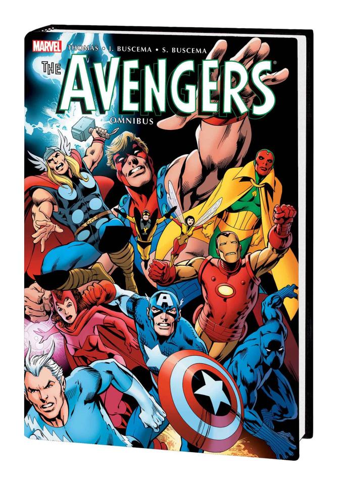 Avengers Vol. 3 (Omnibus Davis Cover)