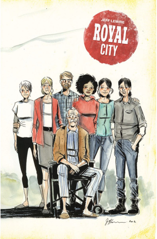 Royal City #14 (Lemire Cover)