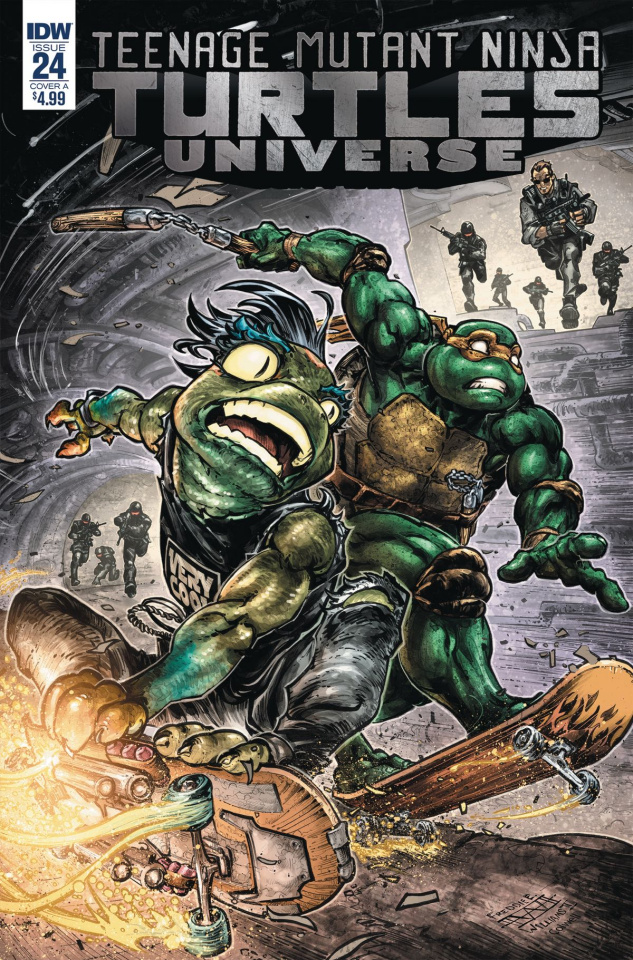 Teenage Mutant Ninja Turtles Universe #24 (Williams II Cover)