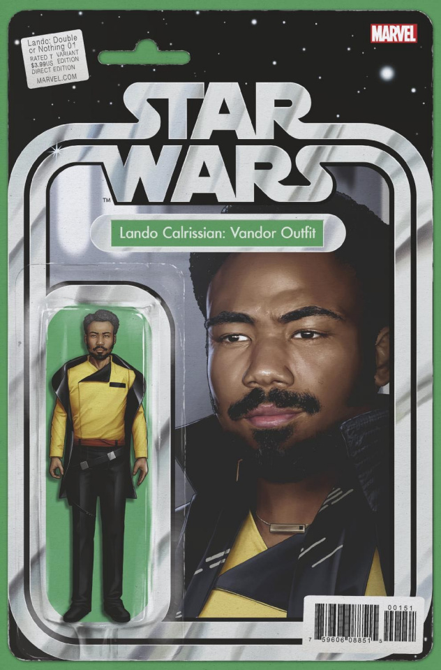 Star Wars: Lando - Double or Nothing #1 (Christopher Action Figure Cover)