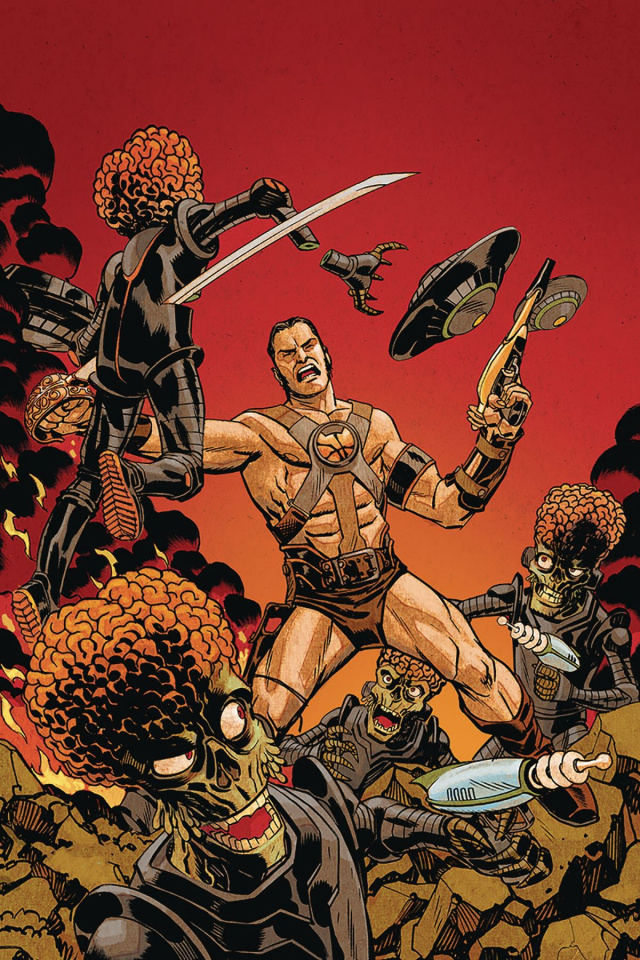 Warlord of Mars Attacks #1 (30 Copy Johnson Virgin Cover)