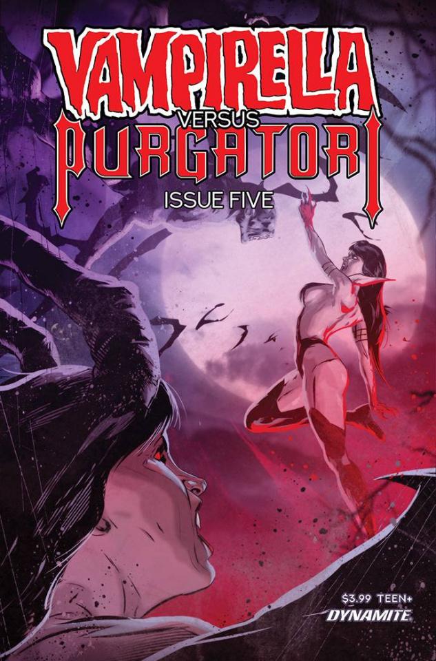 Vampirella vs. Purgatori #5 (Kudranski Cover)