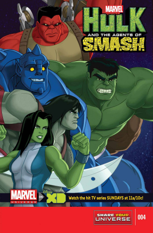 Marvel Universe: Hulk and the Agents of S.M.A.S.H. #4