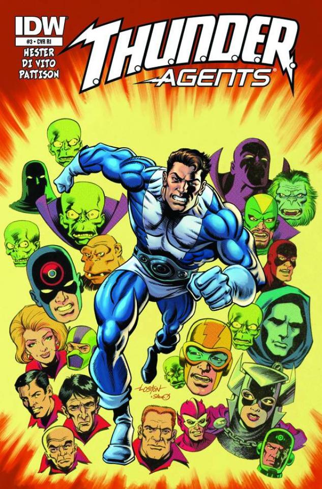 T.H.U.N.D.E.R. Agents #3 (Subscription Cover)