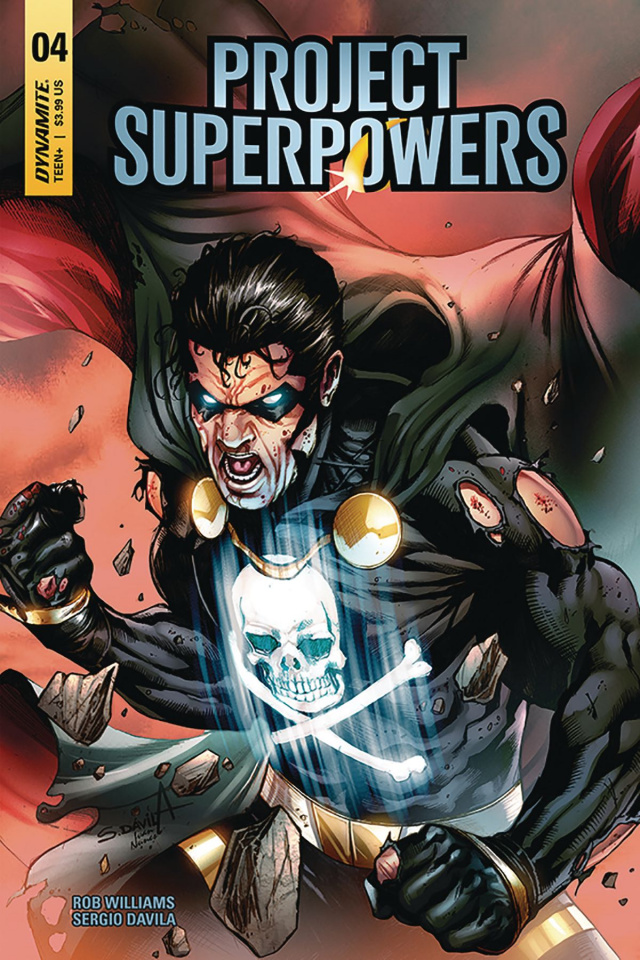 Project Superpowers #4 (Davila Cover)