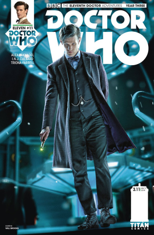 Doctor Who: New Adventures with the Eleventh Doctor, Year Three #11 (Photo Cover)