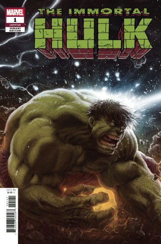 The Immortal Hulk #1 (Connecting Party Cover)
