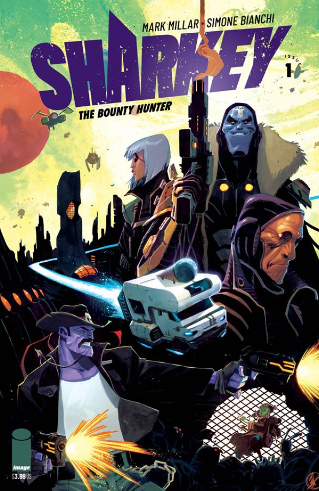 Sharkey, The Bounty Hunter #1 (Scalera Cover)
