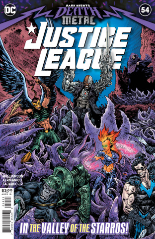 Justice League #54 (Liam Sharp Cover)