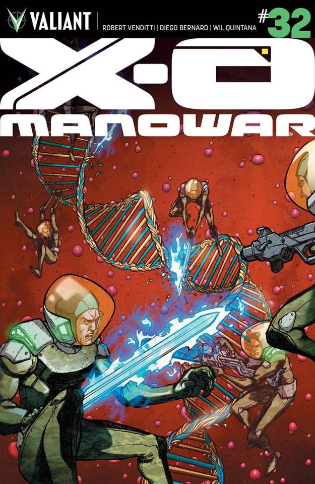 X-O Manowar #32 (20 Copy Lee Cover)
