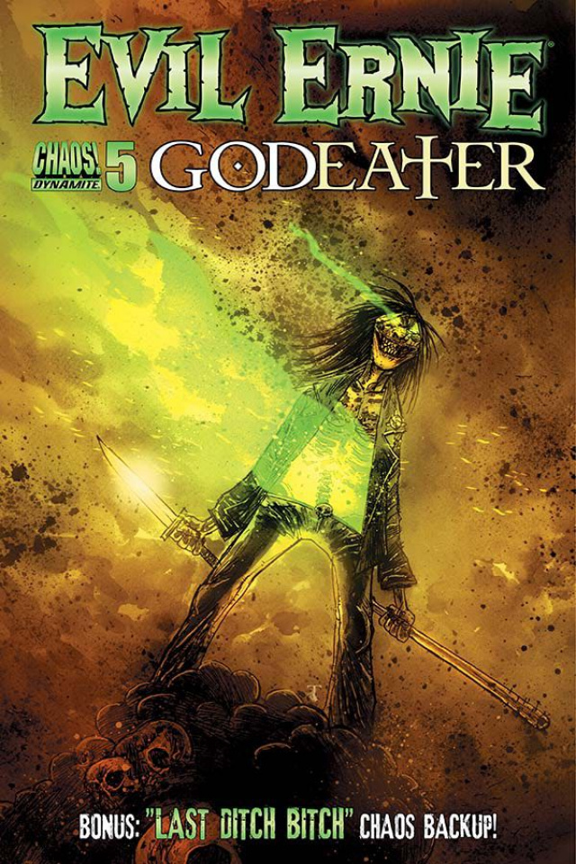 Evil Ernie: Godeater #5 (Templesmith Cover)