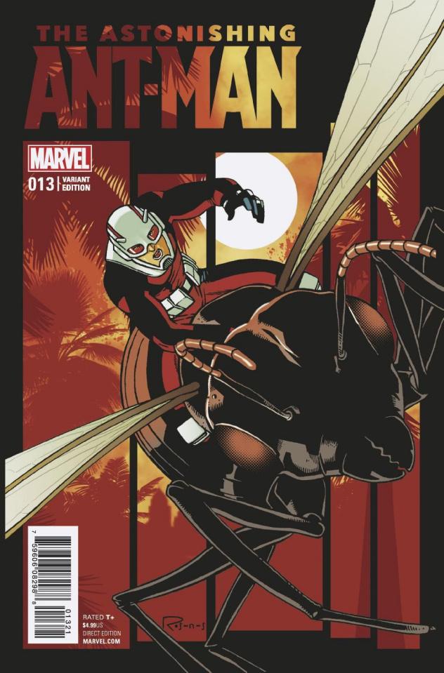 Astonishing Ant-Man #13 (Rosana's Last Issue Cover)