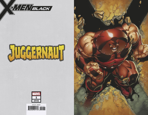 X-Men: Black - Juggernaut #1 (Virgin Cover)