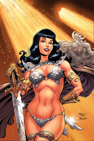 Bettie Page: Unbound #1 (Royle Virgin Cover)