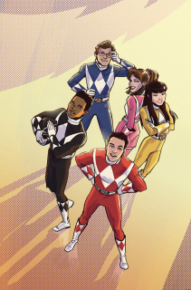 Mighty Morphin' Power Rangers: Pink #5 (50 Copy Wu Cover)