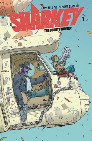 Sharkey, The Bounty Hunter #1 (Quitely Cover)