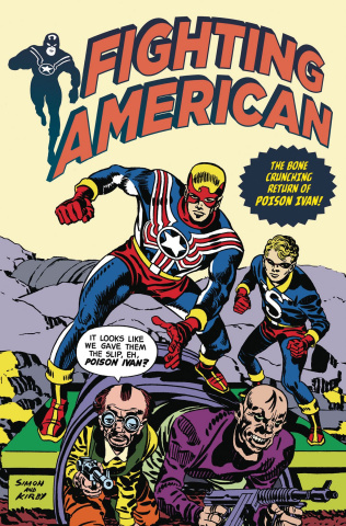 Fighting American #4 (Kirby Cover)