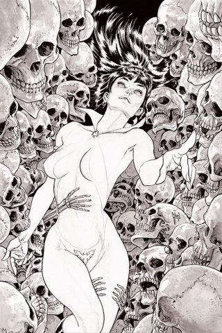 Vampirella #3 (11 Copy March B&W Virgin Cover)