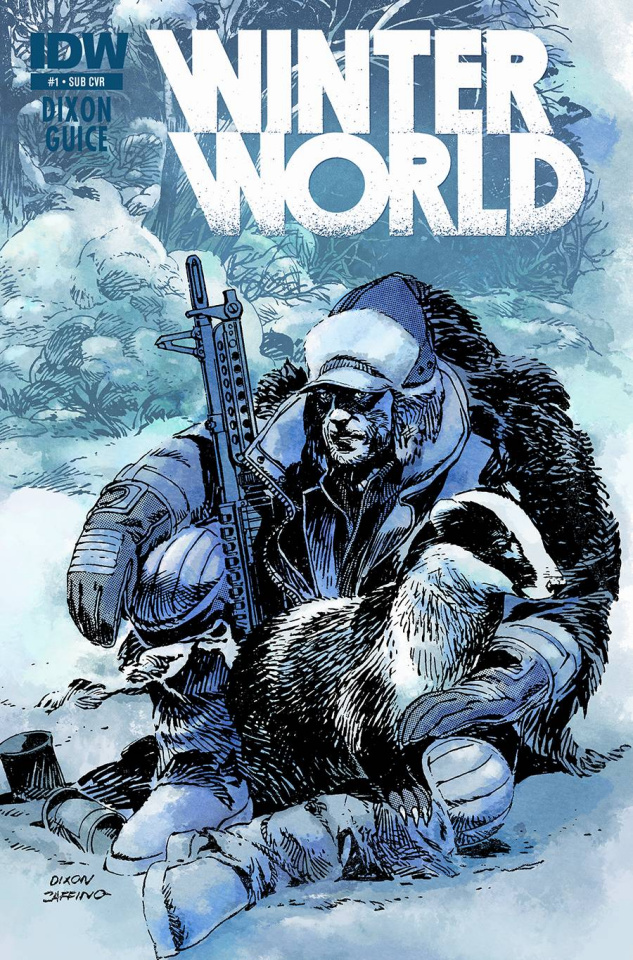 Winterworld #1 (Subscription Cover)
