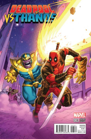 Deadpool vs. Thanos #3 (Lim Cover)