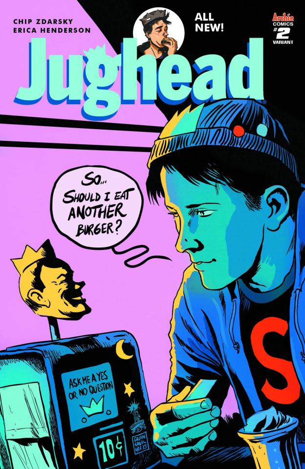 Jughead #2 (Francavilla Cover)