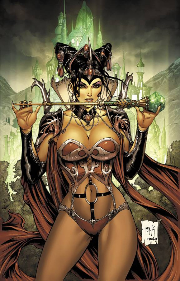 Grimm Fairy Tales: Oz - Age of Darkness (Krome Cover)