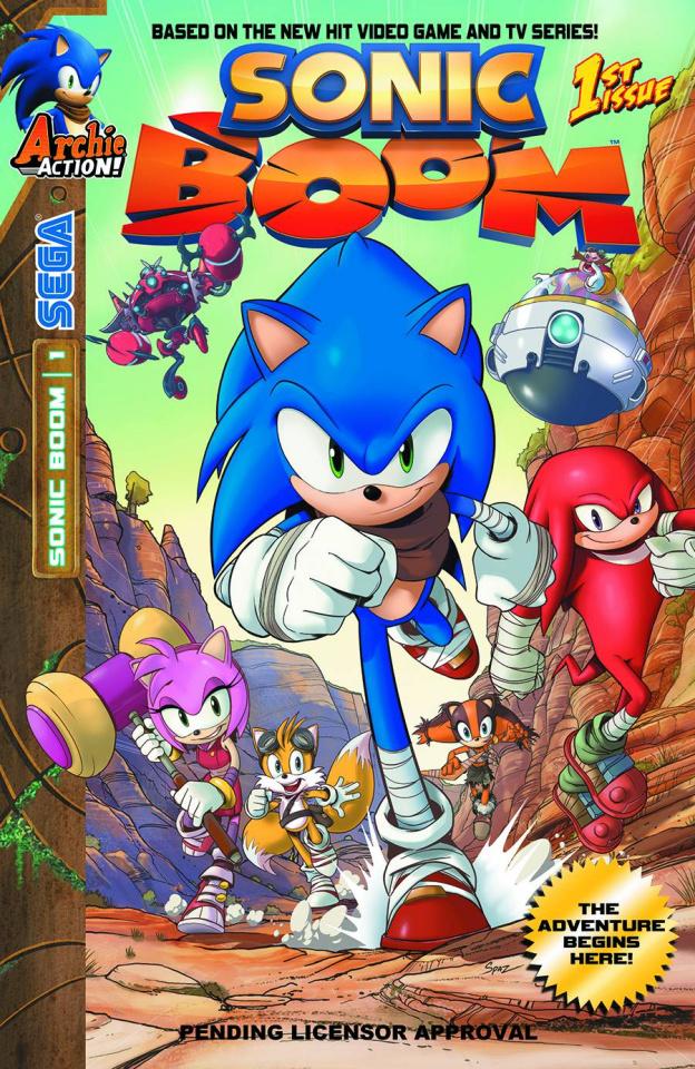 Sonic Boom #1