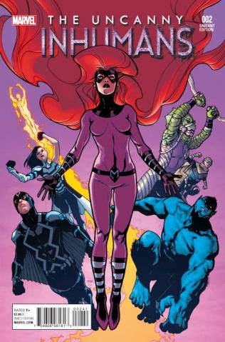 The Uncanny Inhumans #2 (Asrar Cover)