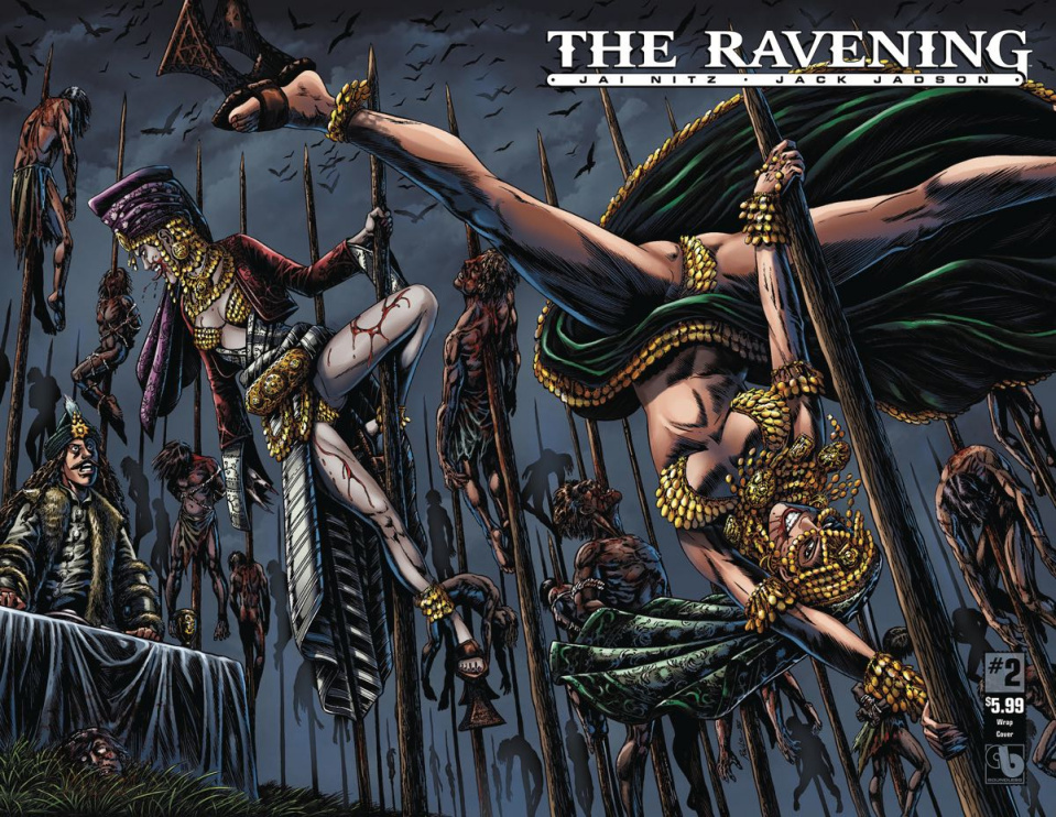 The Ravening #2 (Wrap Cover)